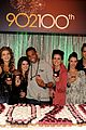 90210 cast celebrate 100 episode 17