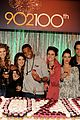 90210 cast celebrate 100 episode 22