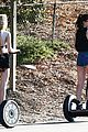 kylie jenner segway ride 08