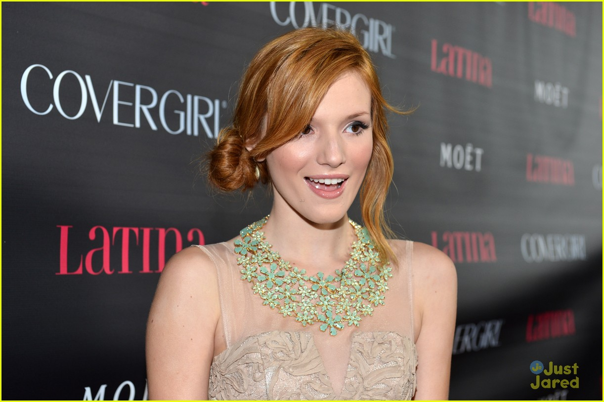 bella thorne latina mag party 06
