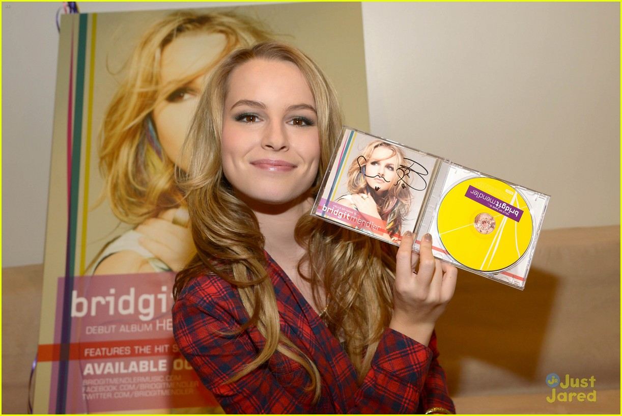 Bridgit Mendler Hello My Name Is Listen Now Photo 504963 Bridgit Mendler Pictures Just Jared Jr