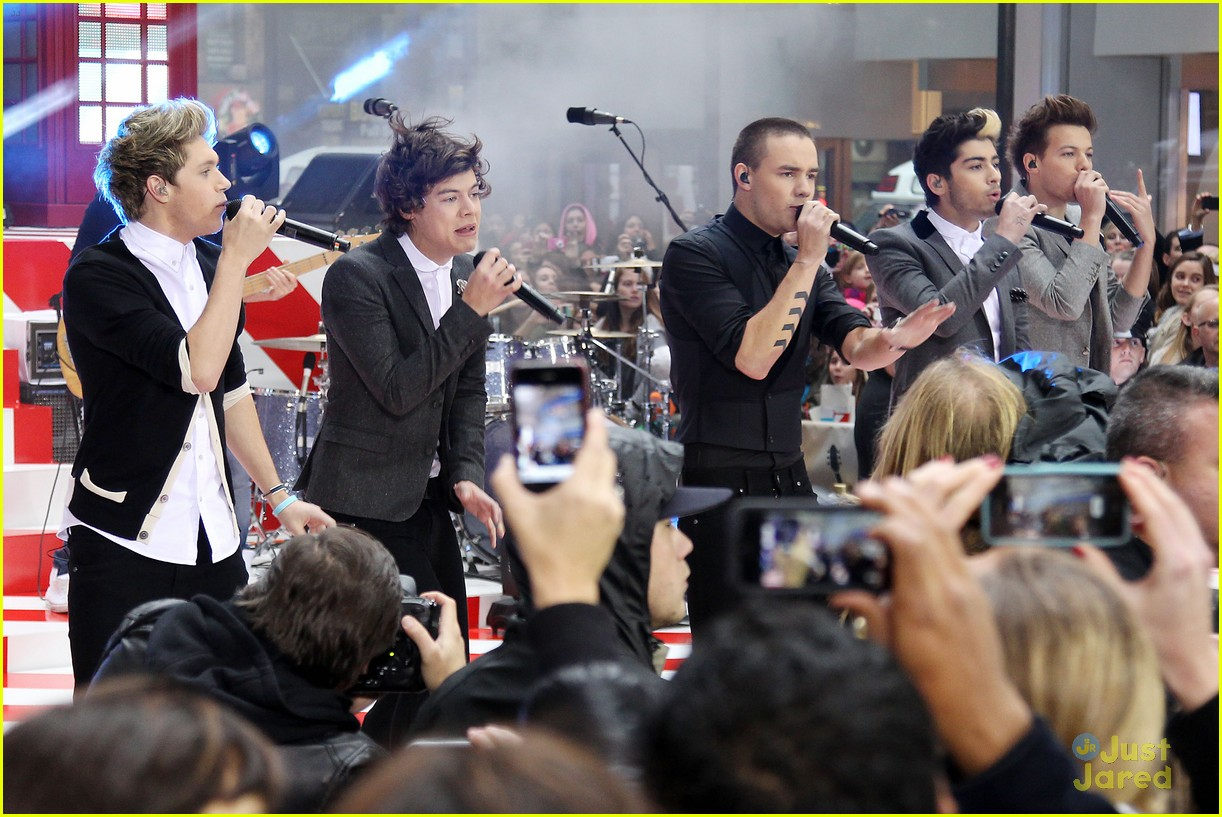 one direction today show 02