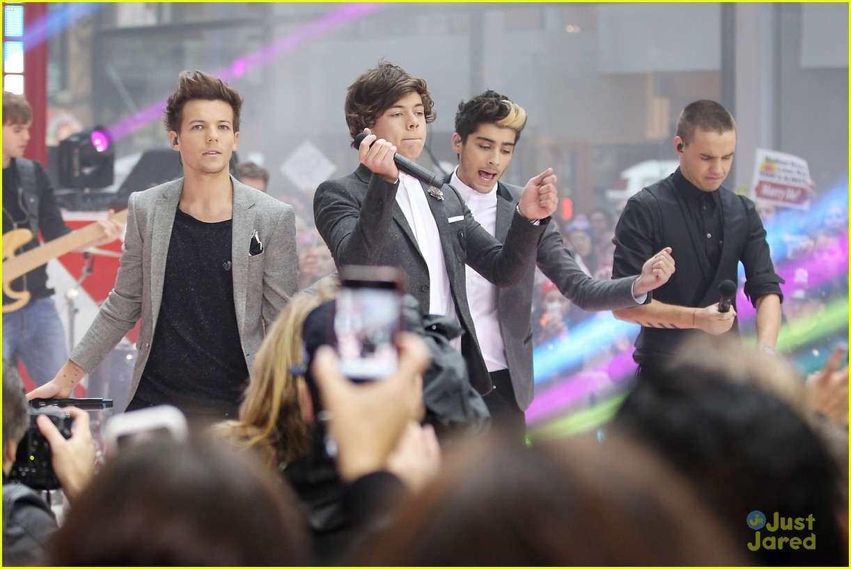 one direction today show 10