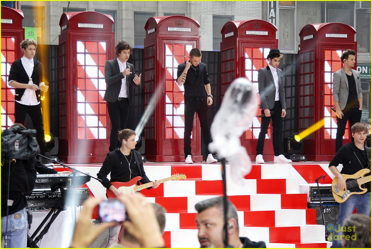 one direction today show 12