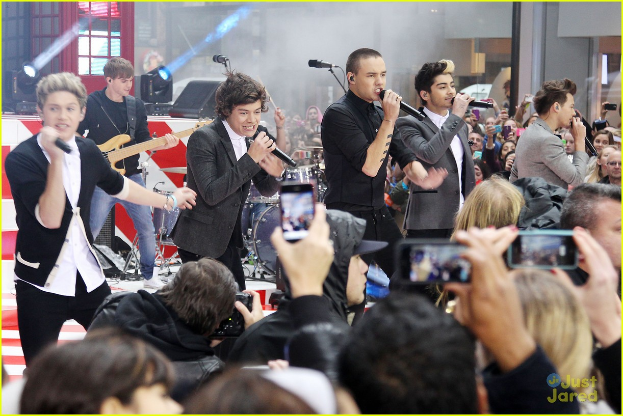 one direction today show 18