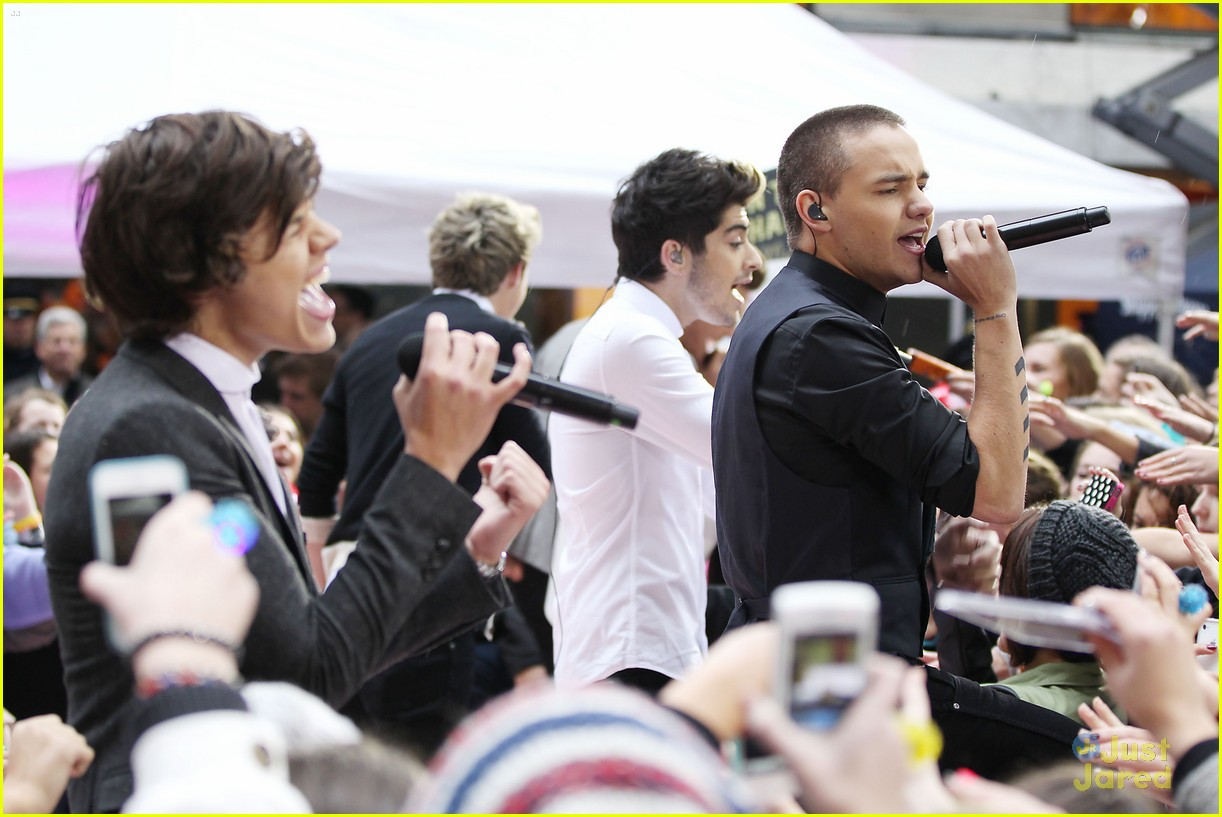 one direction today show 21