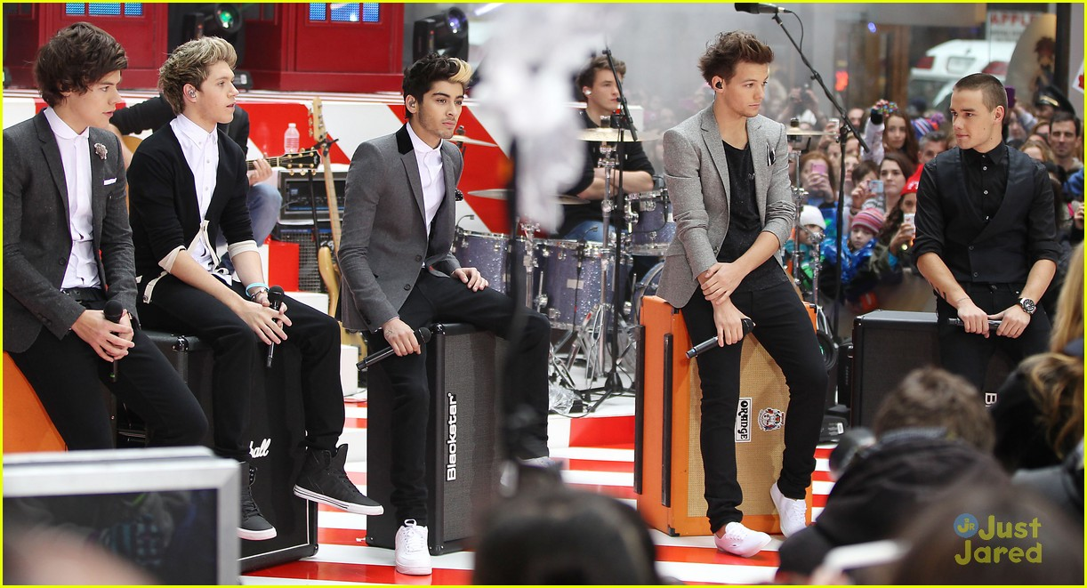 one direction today show 30
