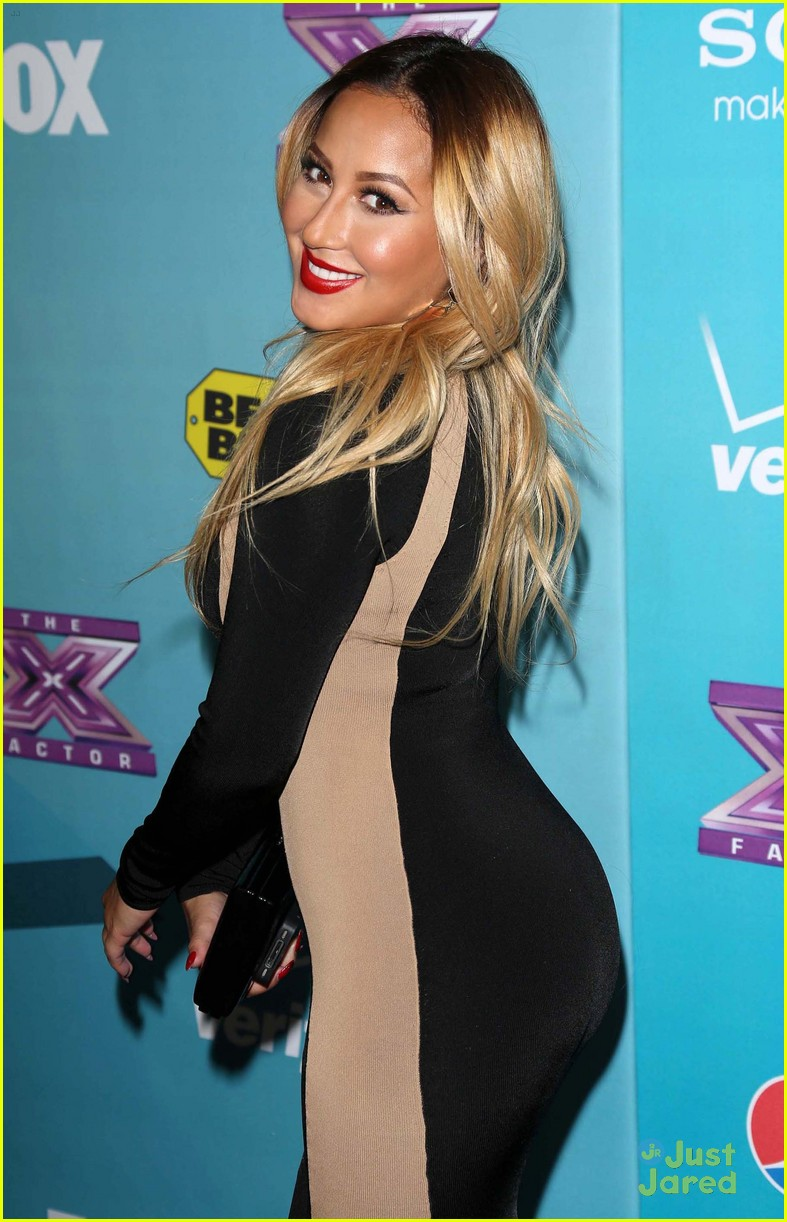 adrienne bailon xfactor finalist party 04