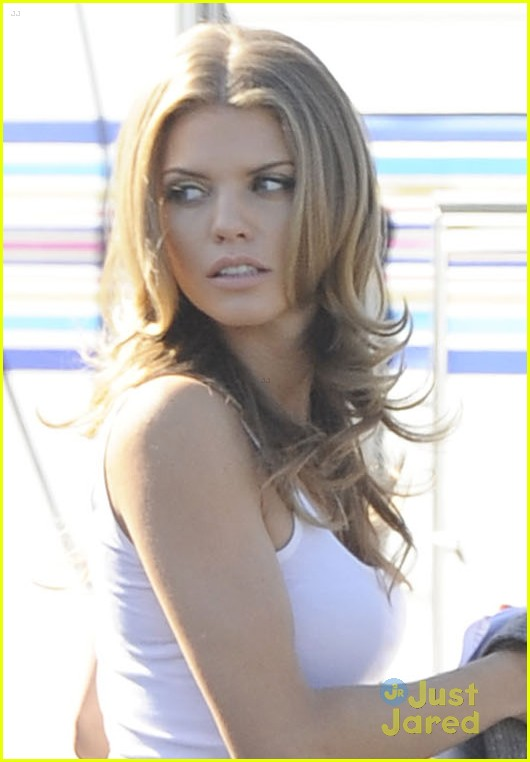 annalynne mccord adam gregory returning 90210 06