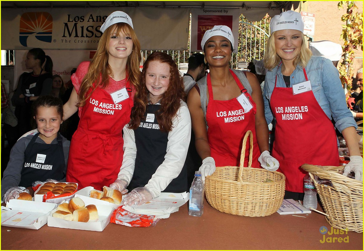 bella thorne christian serratos la mission thanksgiving 03