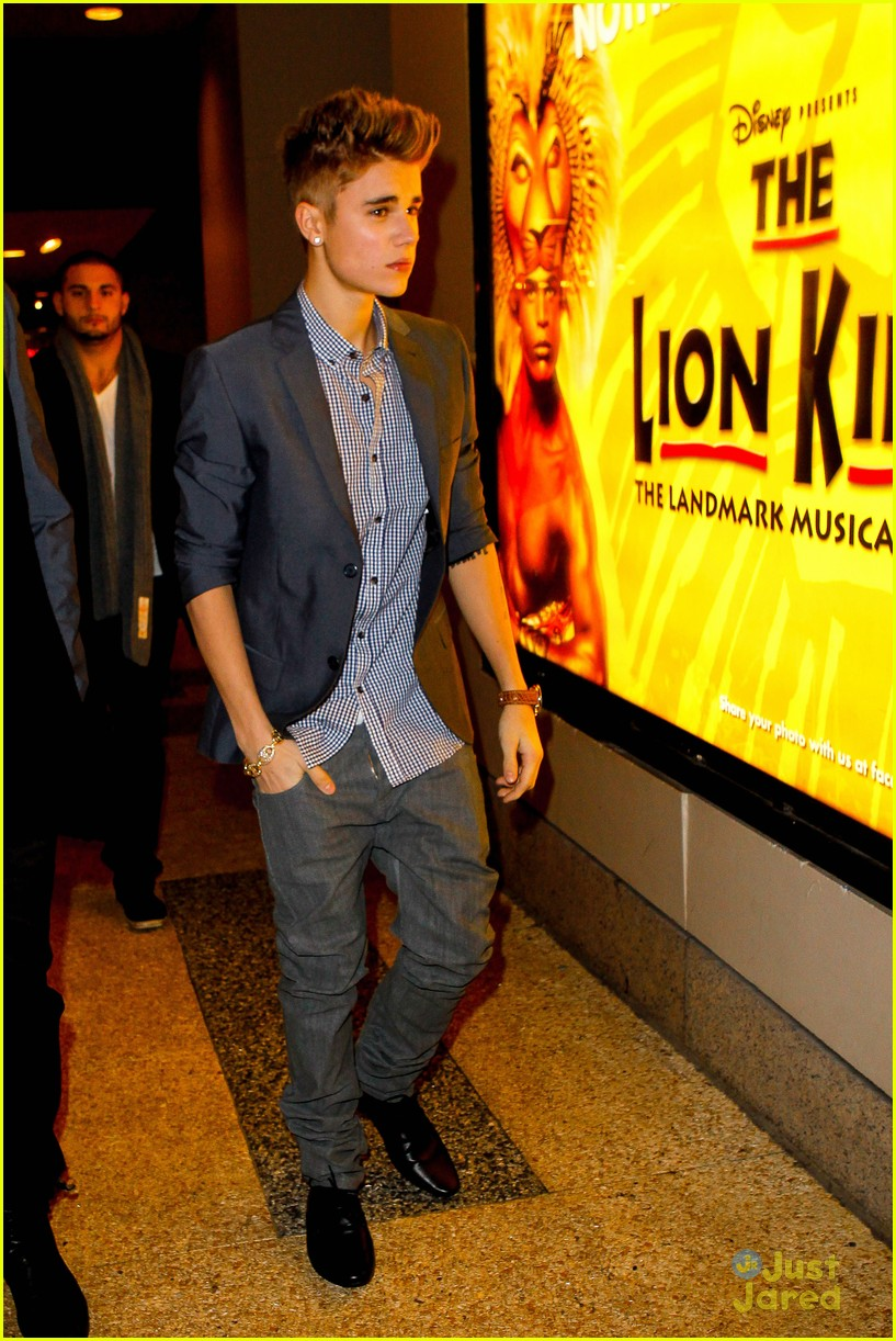 justin bieber lion king 08