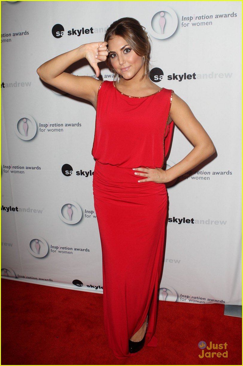 cassie scerbo inspiration awards 03