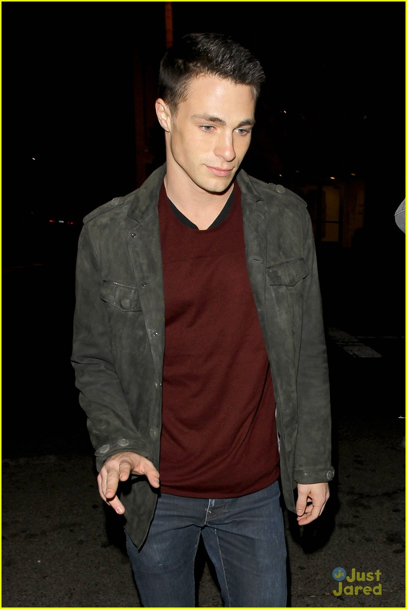 colton haynes bagatelle dinner 04