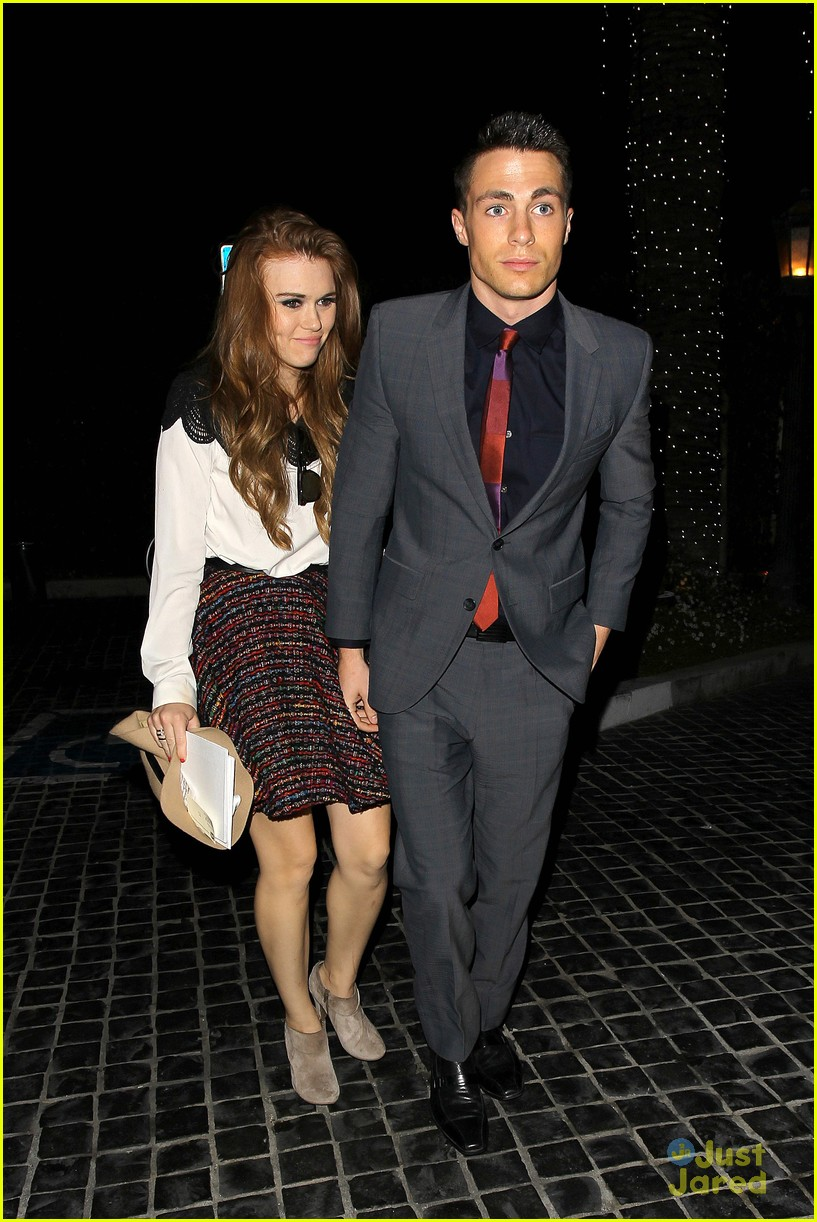 Colton Haynes Amp Holland Roden Cecconi S Dinner Duo
