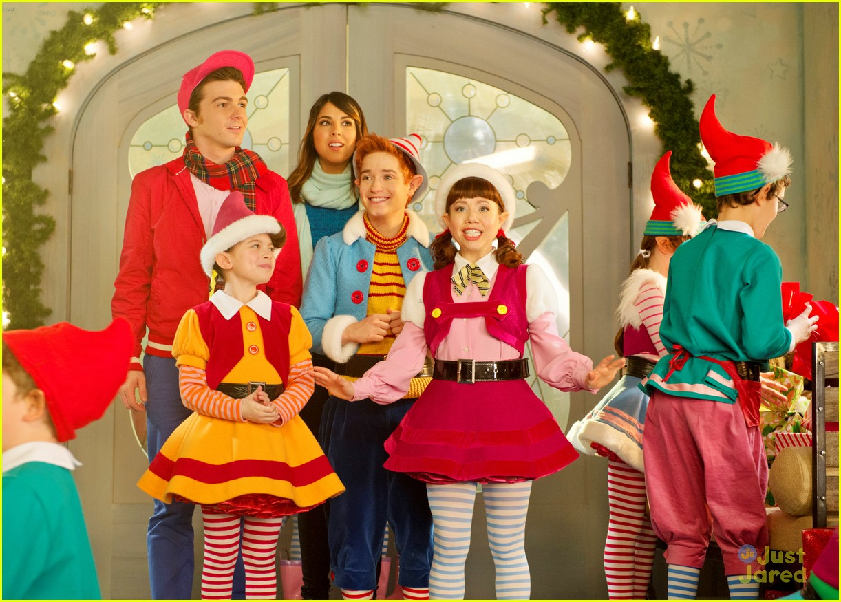 Fairly Oddparents Christmas Movie.Drake Bell Daniella Monet Have A Fairly Odd Christmas