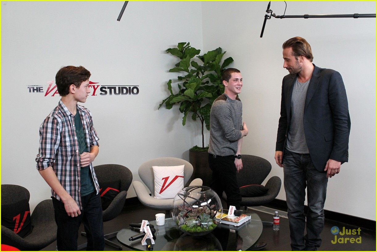 logan lerman variety studio 11