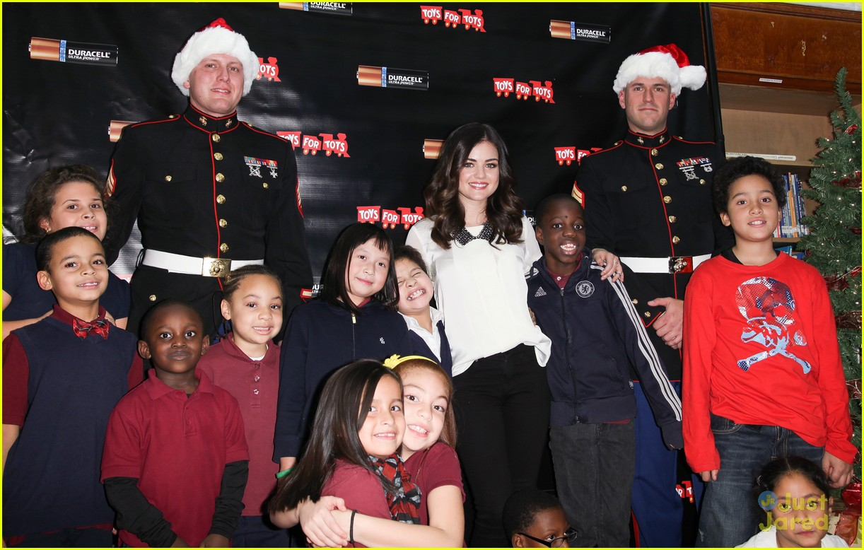 lucy hale duracell smiles campaign 08