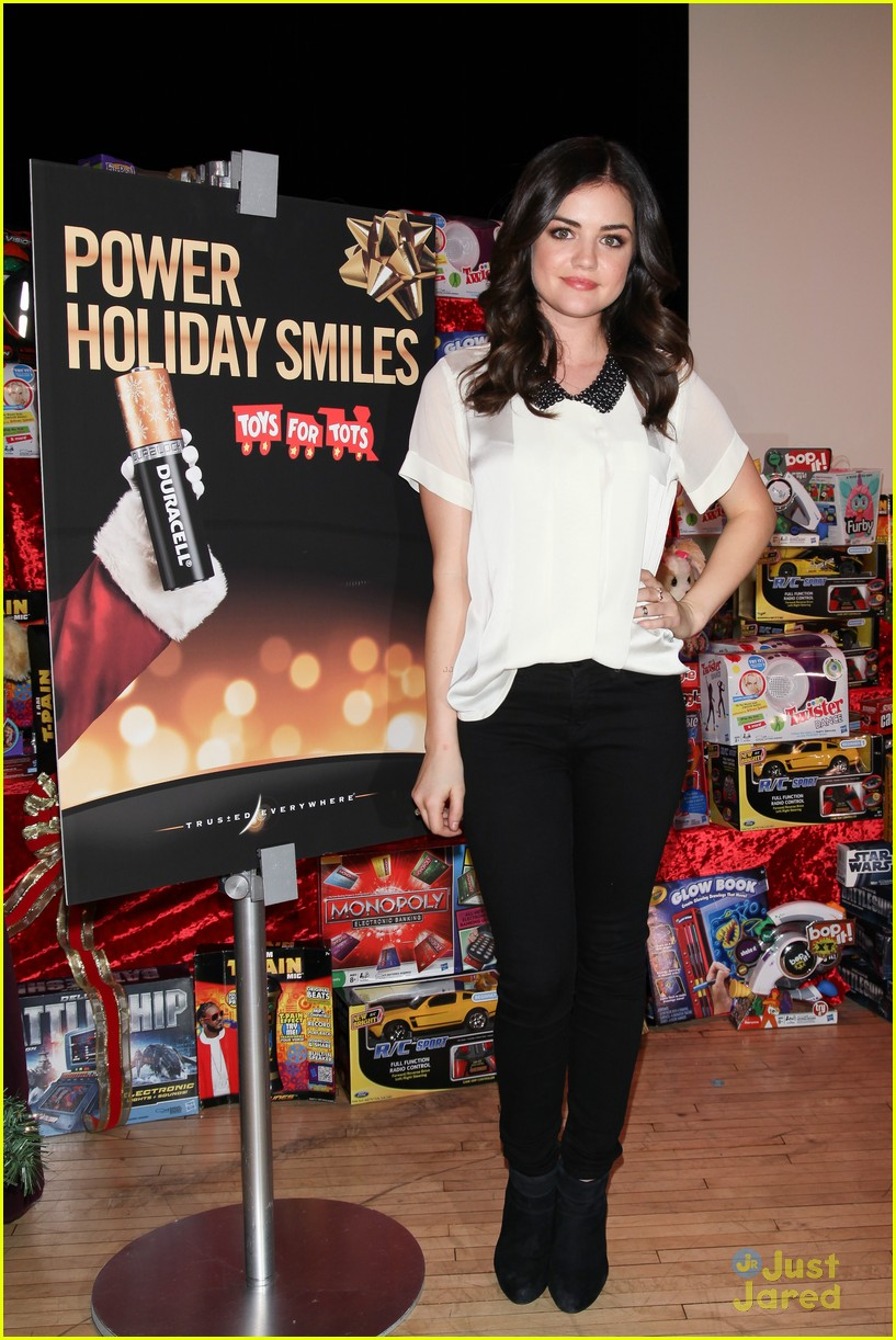 lucy hale duracell smiles campaign 14