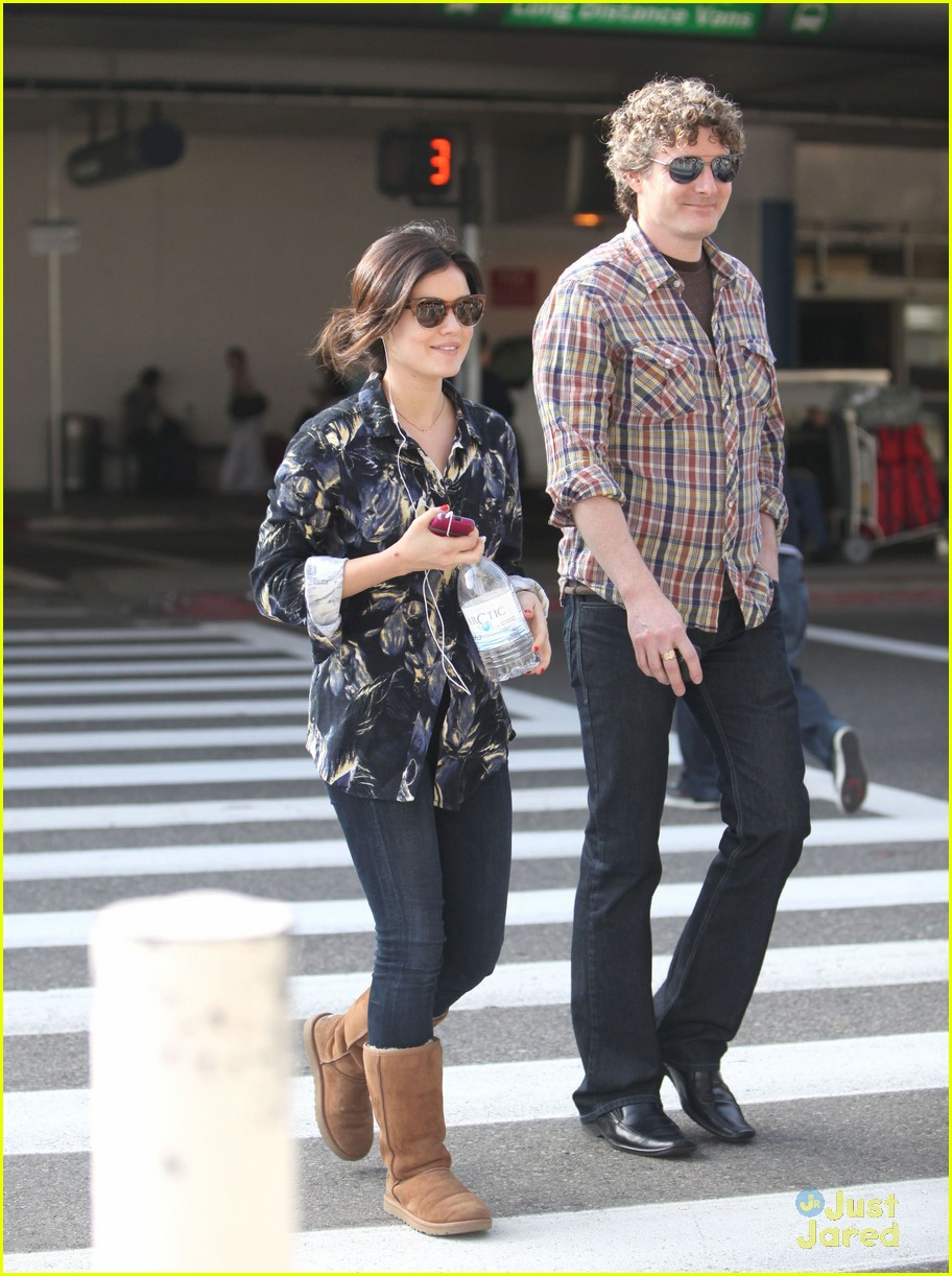 lucy hale lax arrival 08