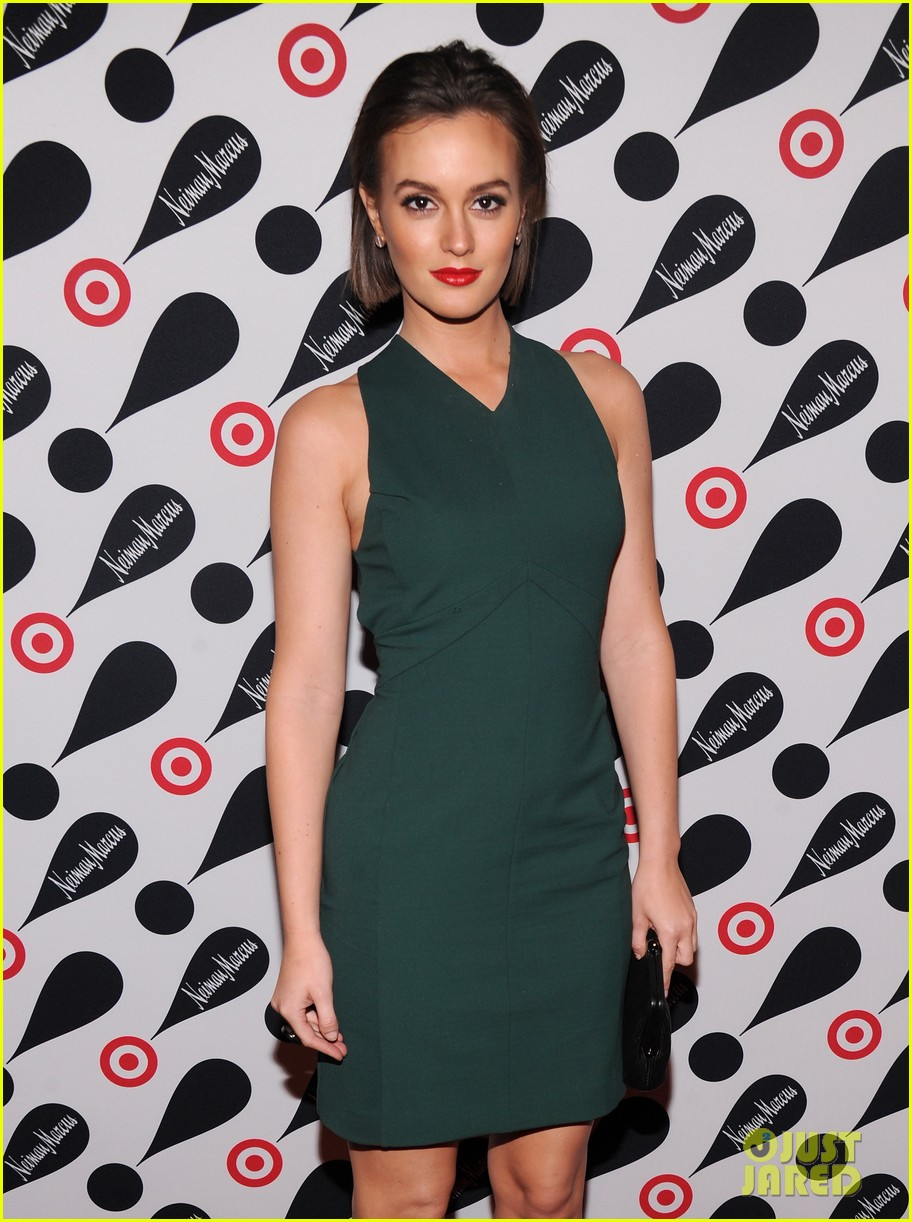leighton meester target event 01