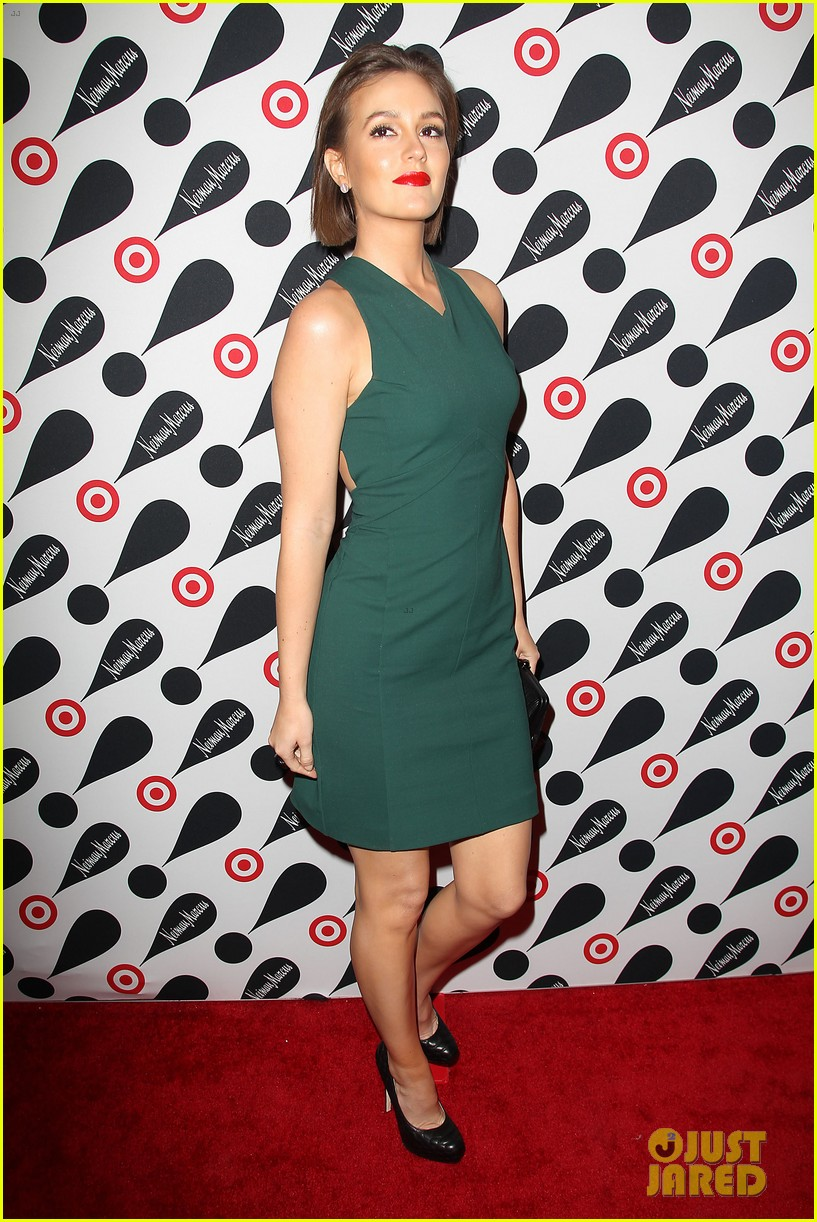 leighton meester target event 08