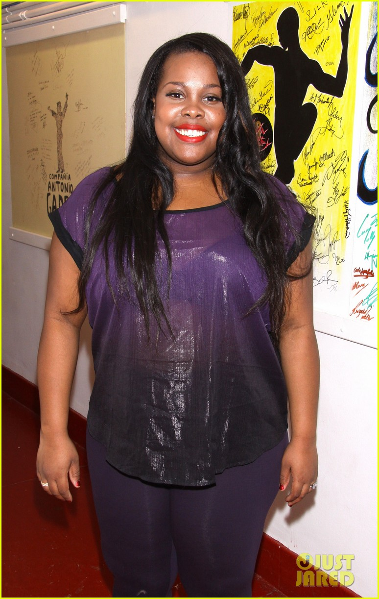 amber riley cotton club parade star 12