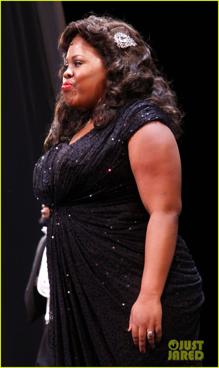 amber riley cotton club parade star 17