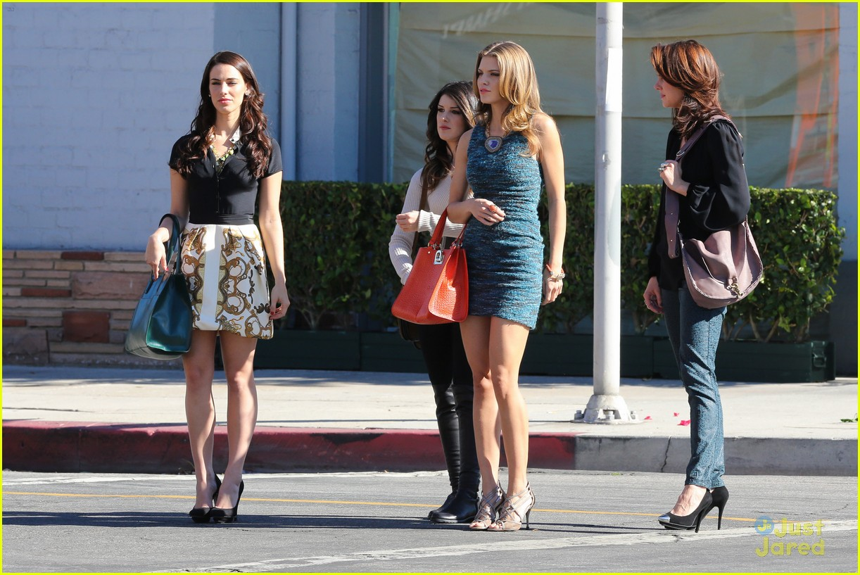 shenae jessica annalynne 90210 filming 08