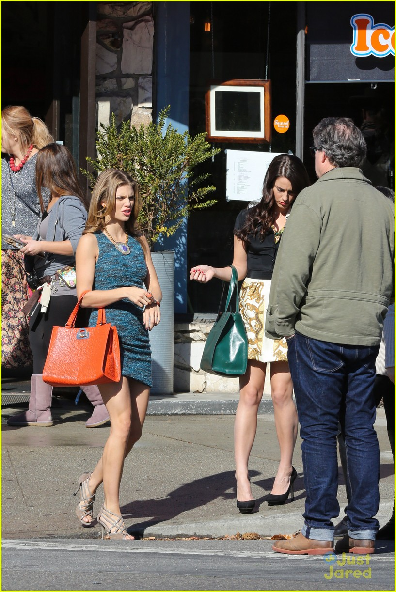 shenae jessica annalynne 90210 filming 10