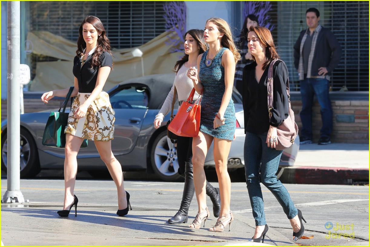 shenae jessica annalynne 90210 filming 22