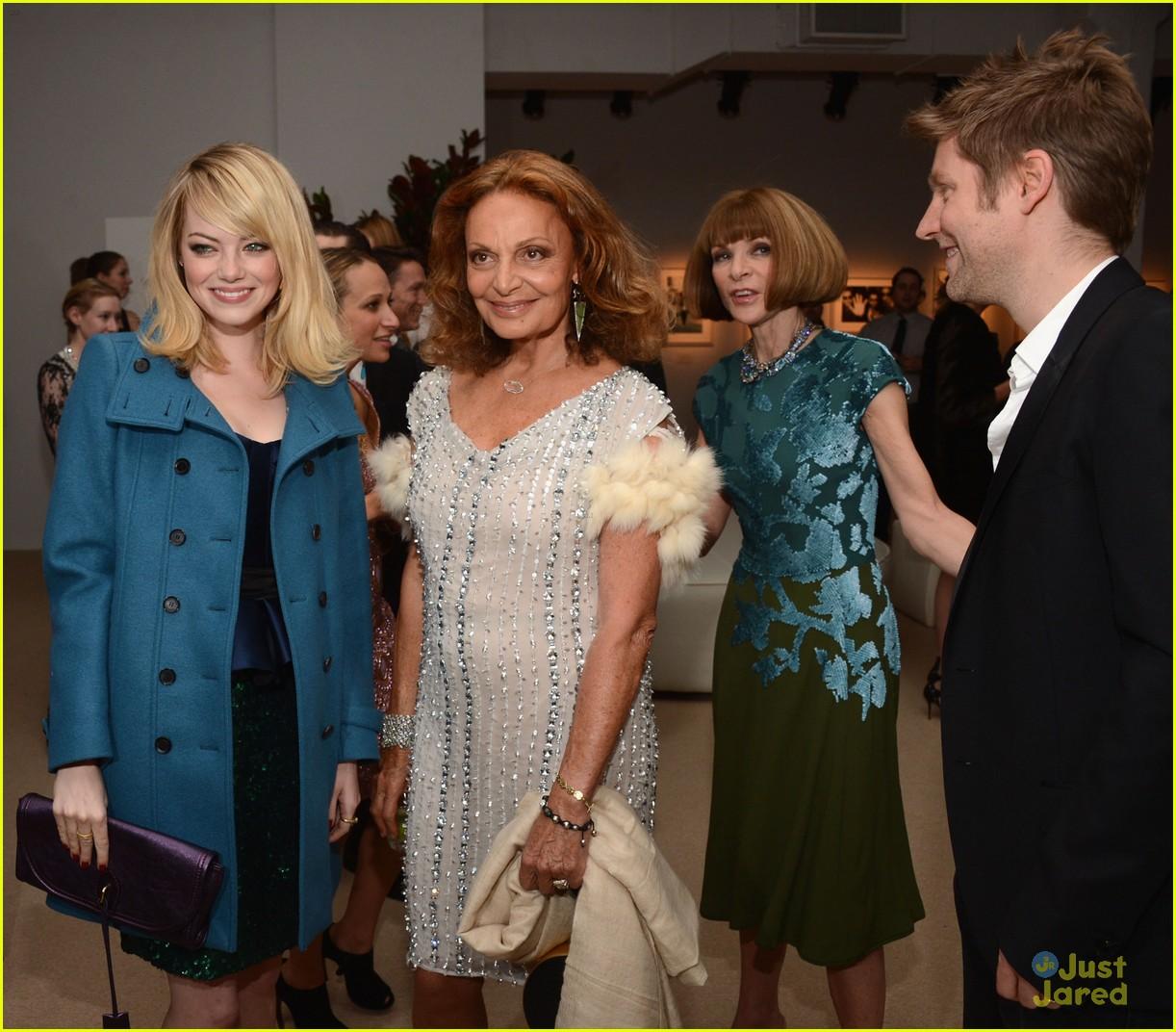 emma stone cfda fashion fund awards 06