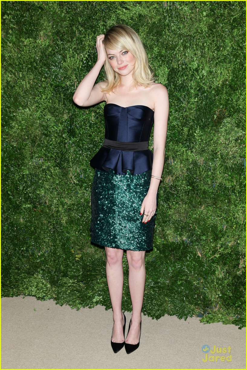 emma stone cfda fashion fund awards 14