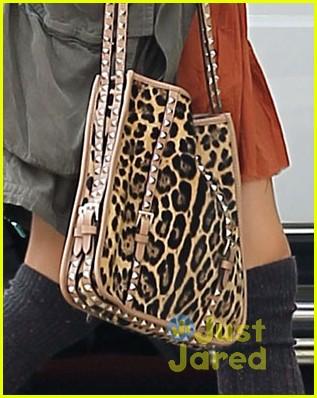 ashley tisdale leopard studs 05