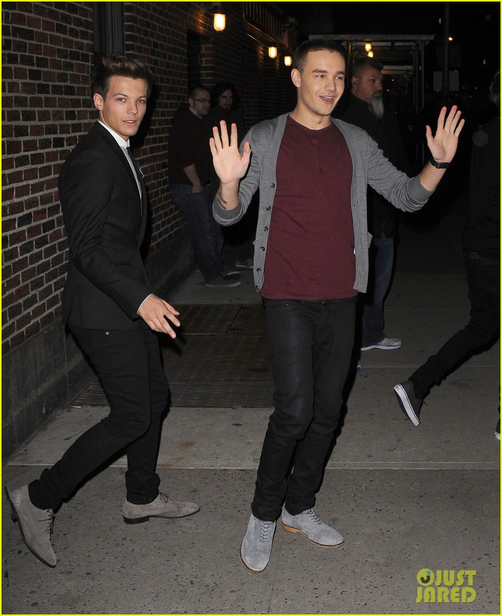 one direction letterman show 04