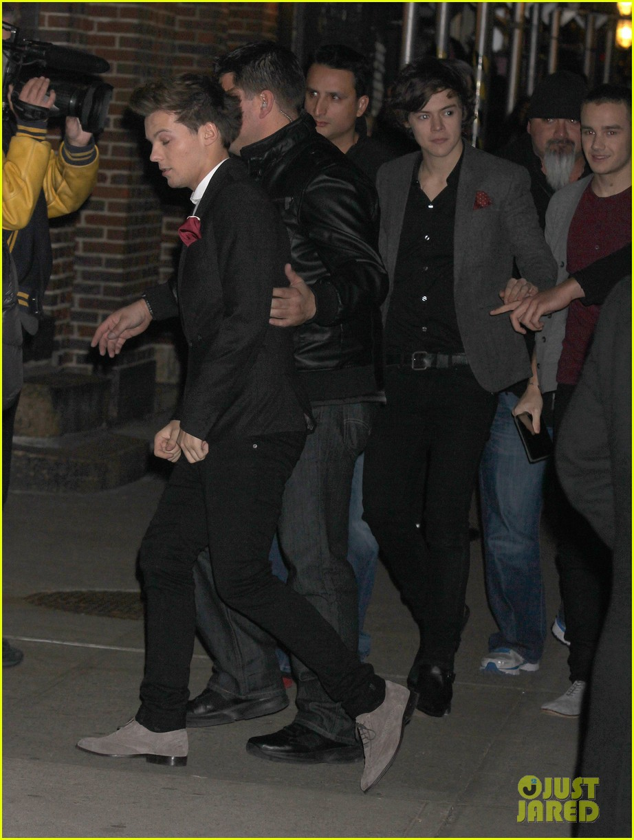 one direction letterman show 12