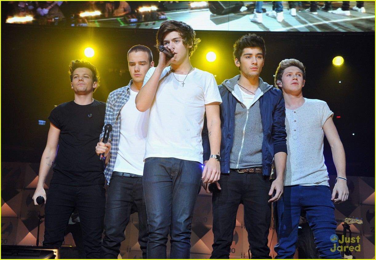 one direction z100 jingle ball 04