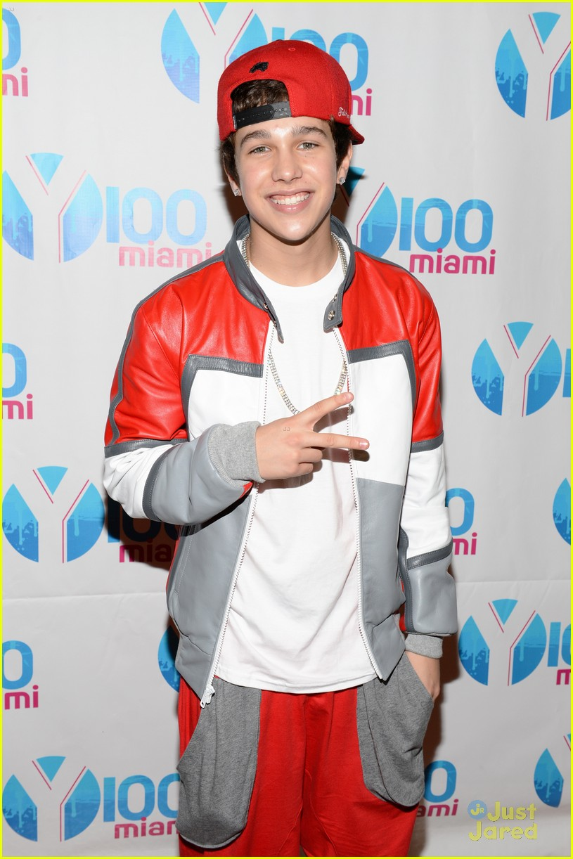 austin mahone y100 jingle ball 17