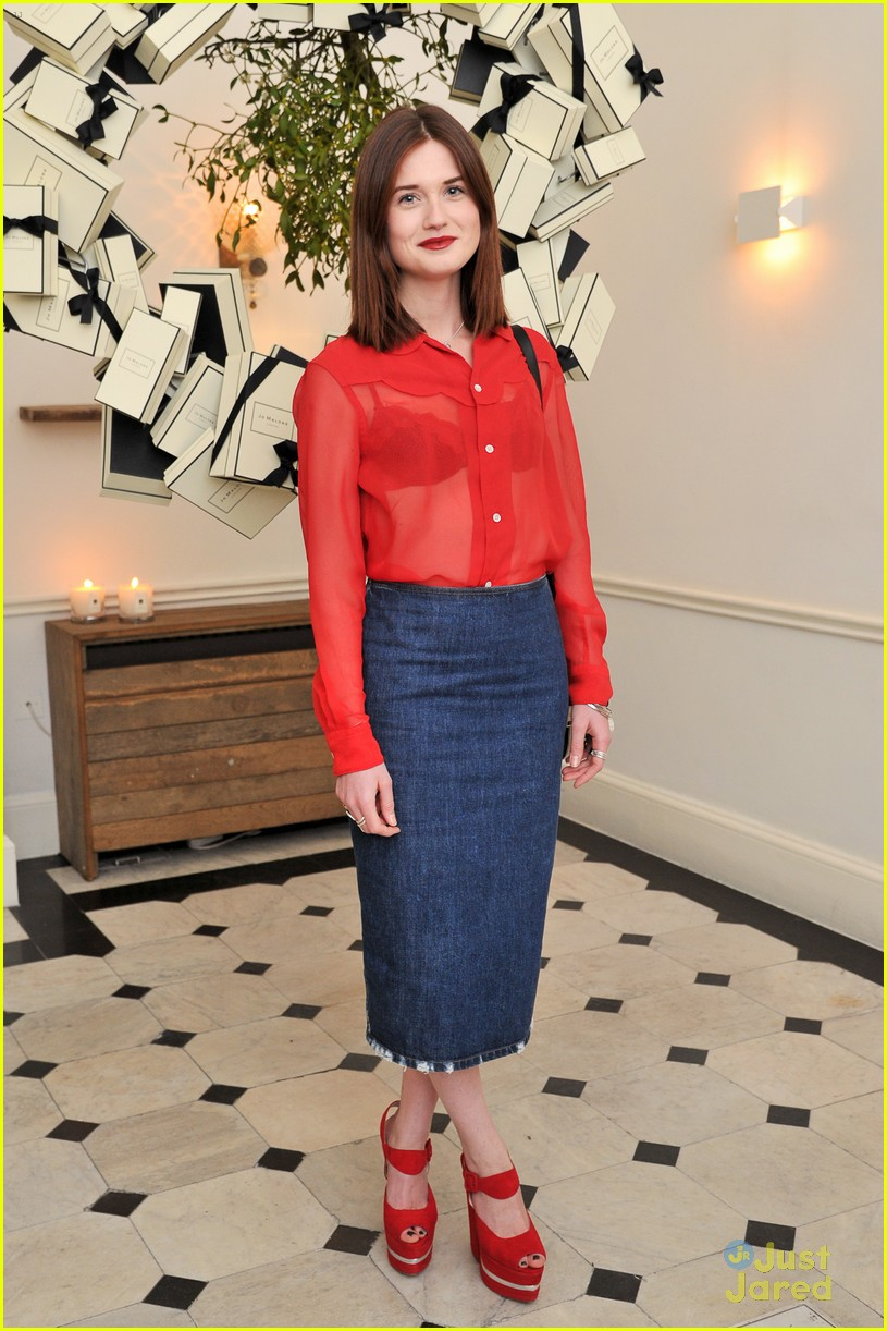 bonnie wright jo malone party 01