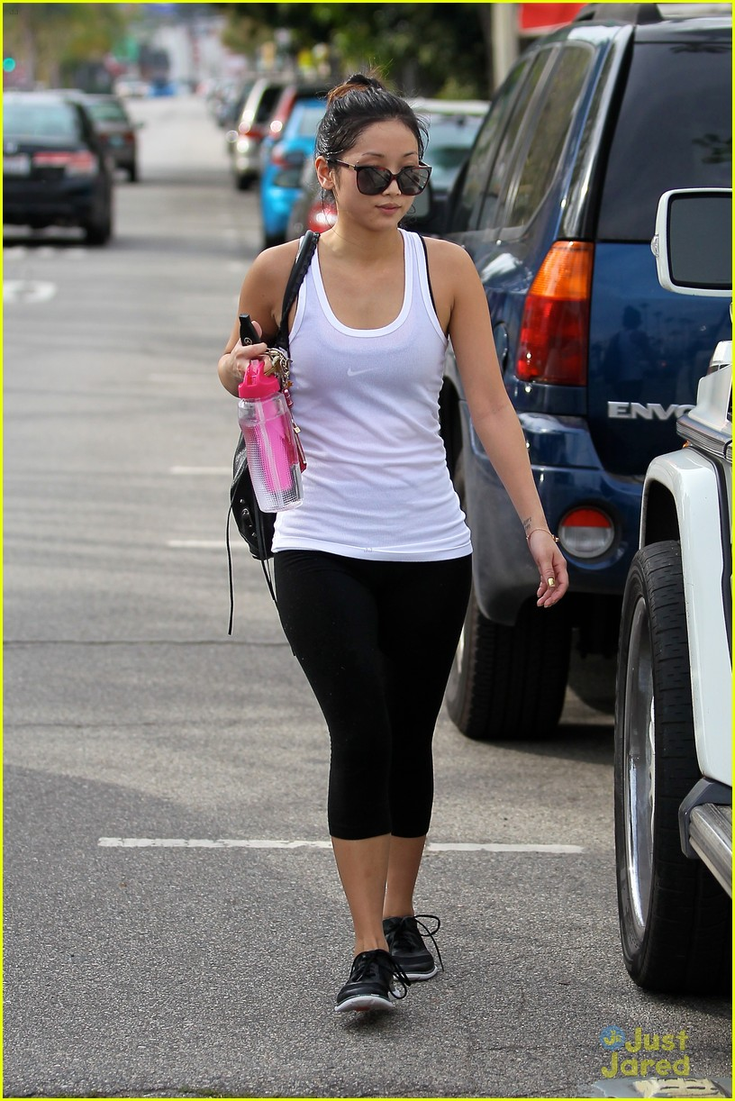 brenda song workout woman 09