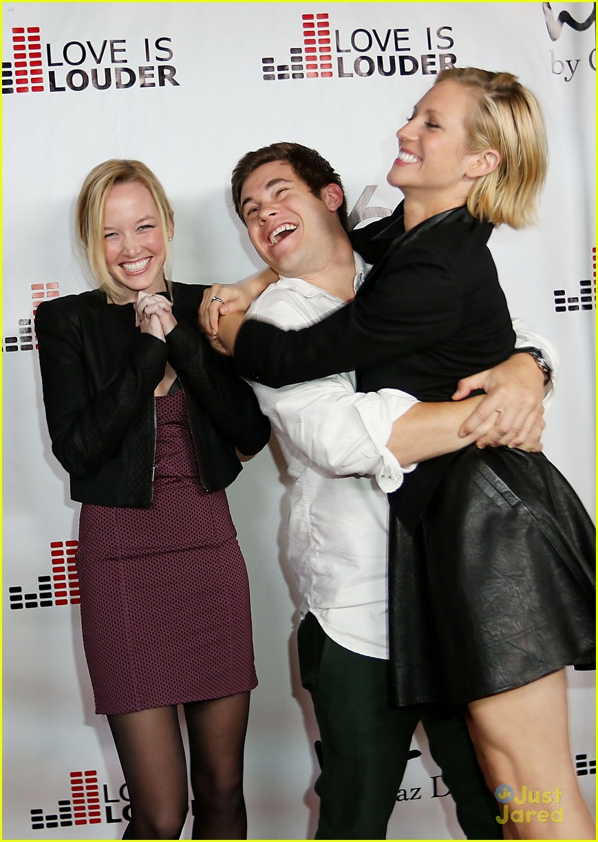 brittany snow chaz dean party 04