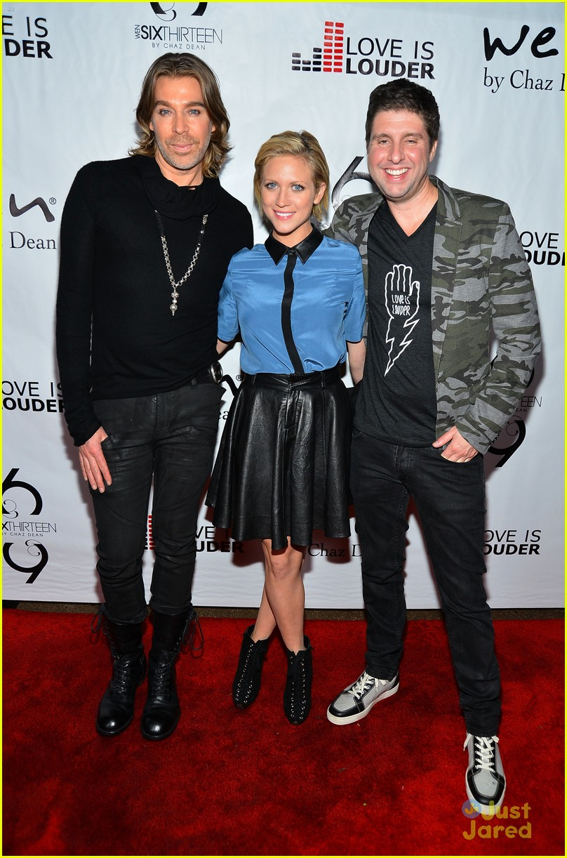 brittany snow chaz dean party 18