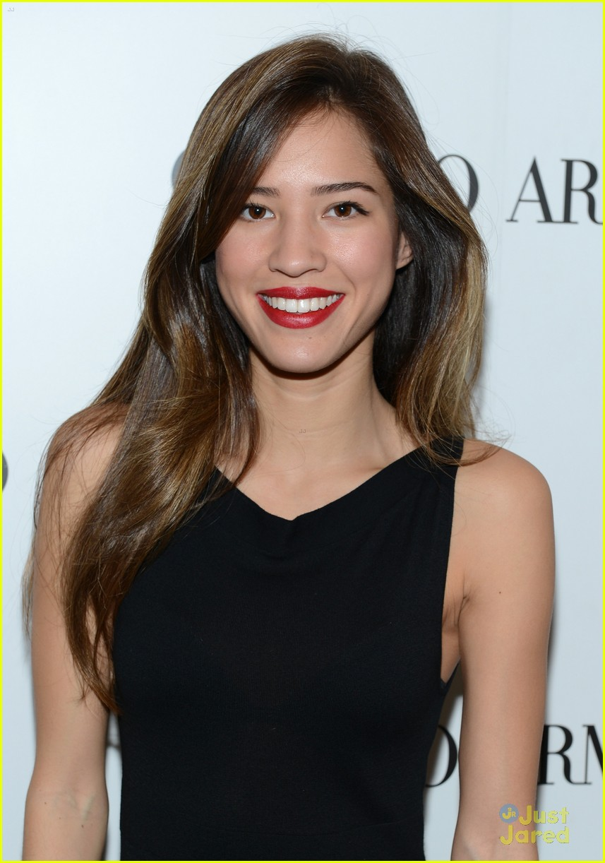 brittany snow kelsey chow armani event 04