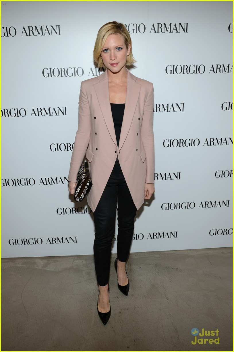 brittany snow kelsey chow armani event 05