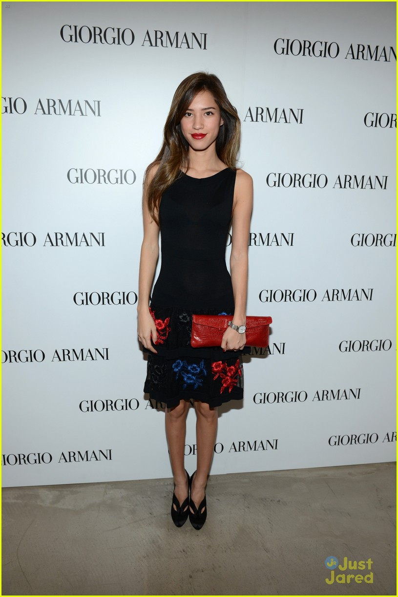 brittany snow kelsey chow armani event 06