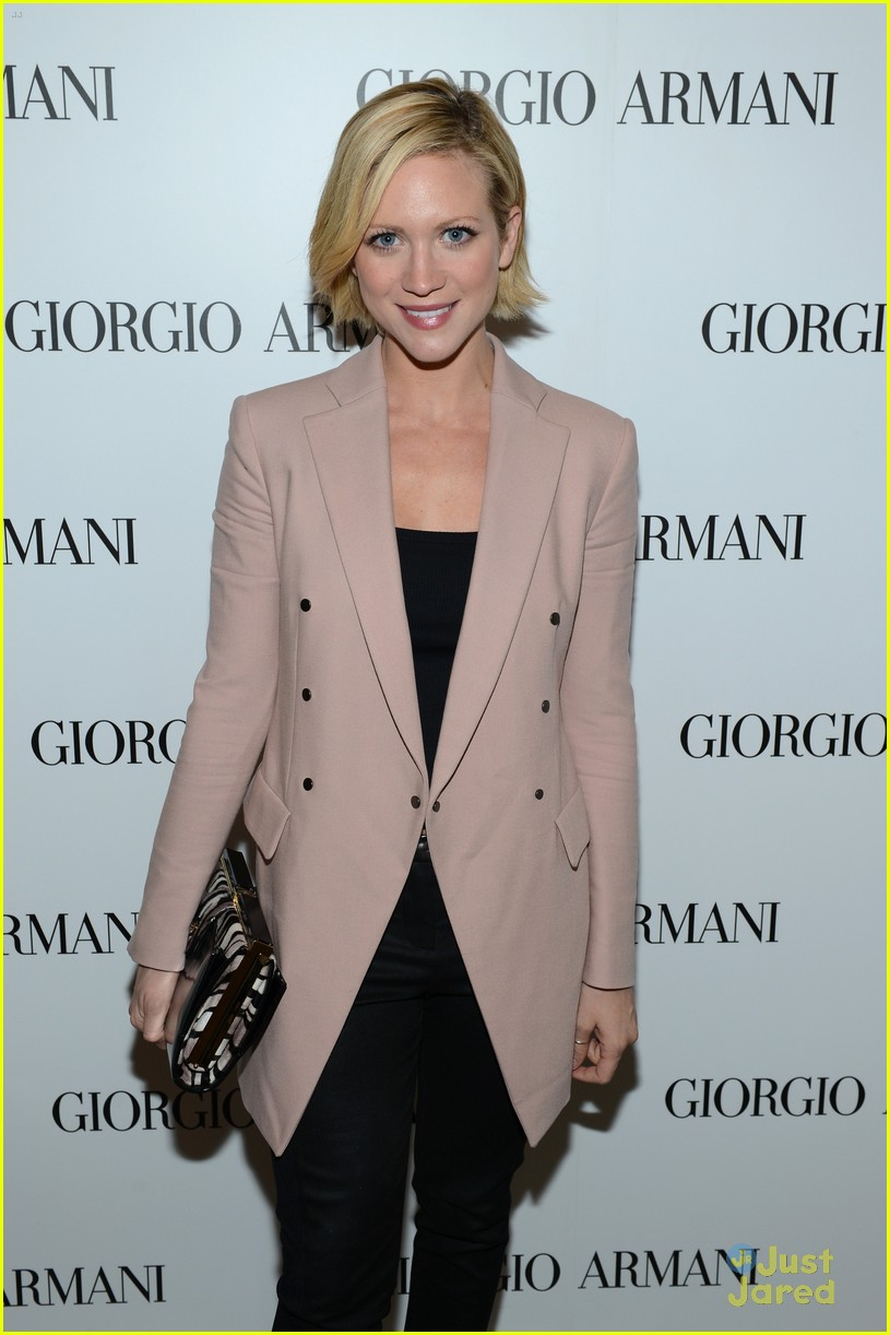 brittany snow kelsey chow armani event 08