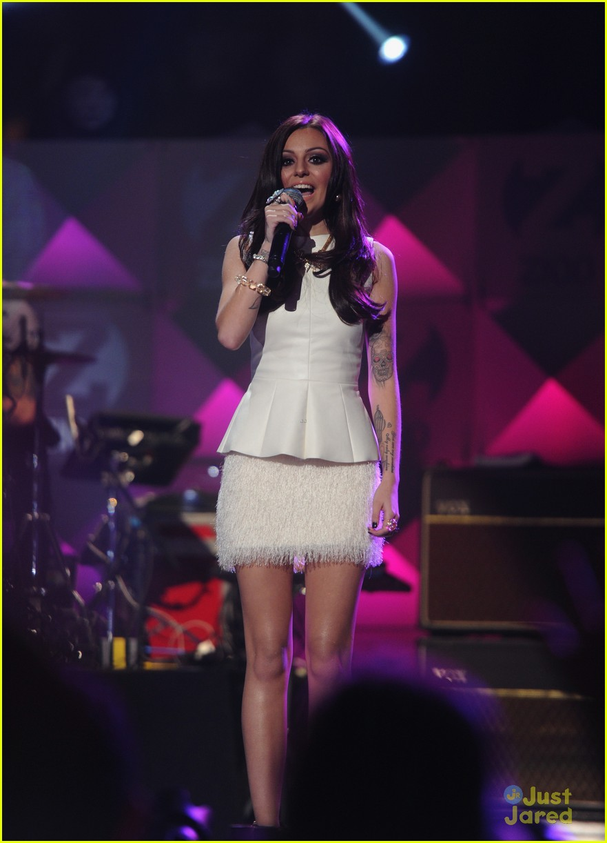 cher lloyd z100 jingle ball 07