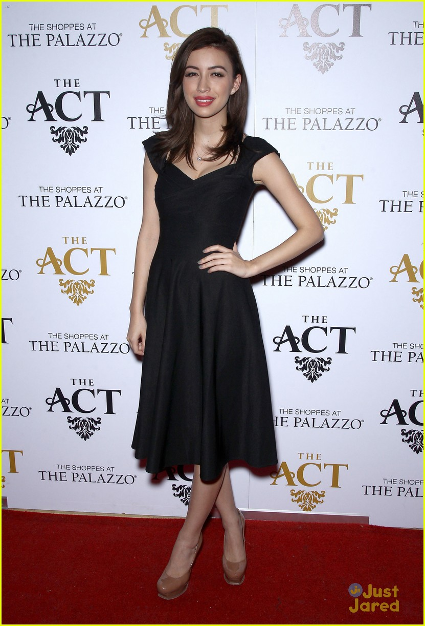 christian serratos vegas holiday party 06