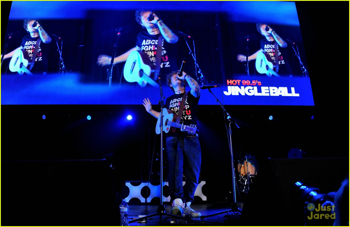 ed sheeran dc jingle ball 04