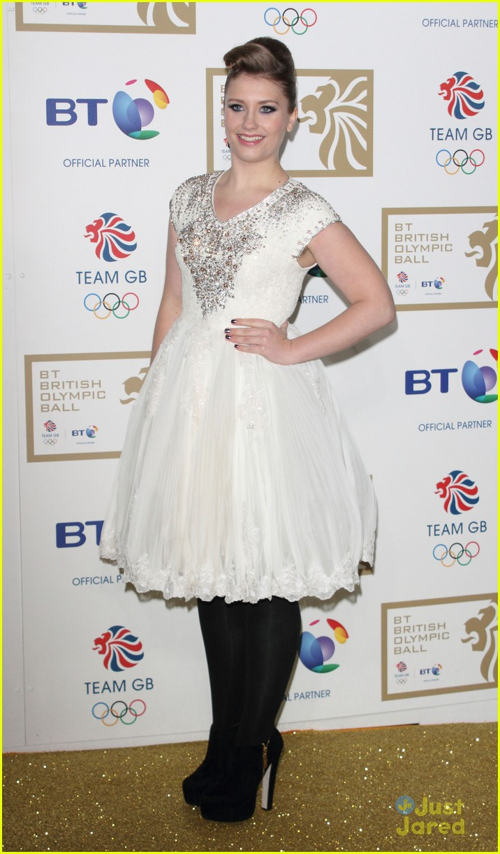 ella henderson british olympic ball 08