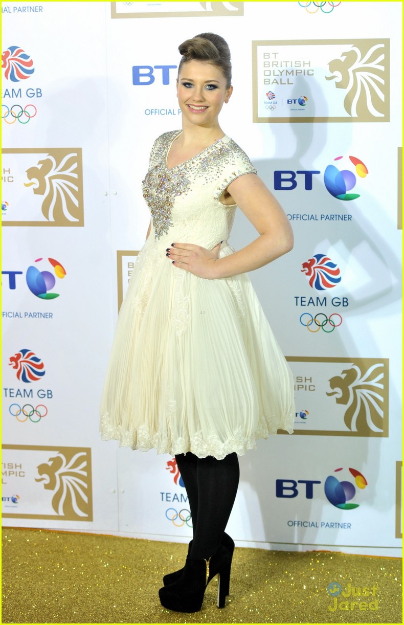 ella henderson british olympic ball 10